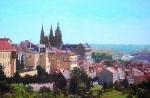 Pohled k Pražskému hradu