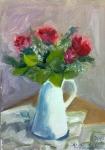 Růže - z cyklu Květinová