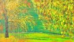 Kew Gardens na jeseň
