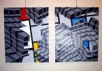 Mondrian - konfrontace