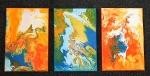 Abstrakcia 4- triptych-prodáno