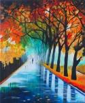 Jesenná prechádzka-prodáno