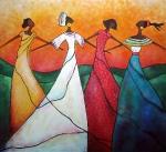 štyri tanečnice