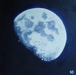 Zářící Měsíc
