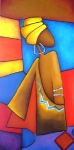 africká žena II.
