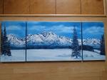 Vysoké Tatry panoráma v zime