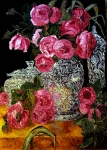 zátiší s růžemi