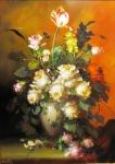 Zátišie s tulipánmi