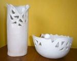 Váza s miskou..