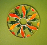 mandala zelená