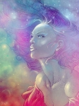 fantasy dívka