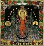 Dámský šatek s bohyní Astarté