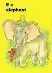 alphabet- elephant