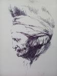 Kopie Rembrandtovy kresby