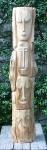 Dřevěná socha 08/2016
